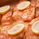 Dinner Catering Prepped Salmon