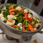 Dinner Catering Vegetables