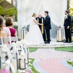 Colonnade Wedding at Sweetwater Branch Inn