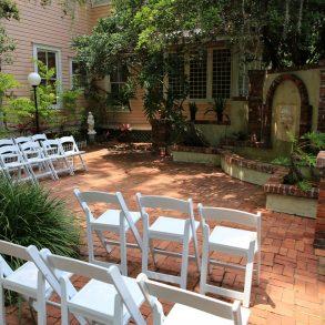 Sweetwater Branch Inn Courtyard Wedding