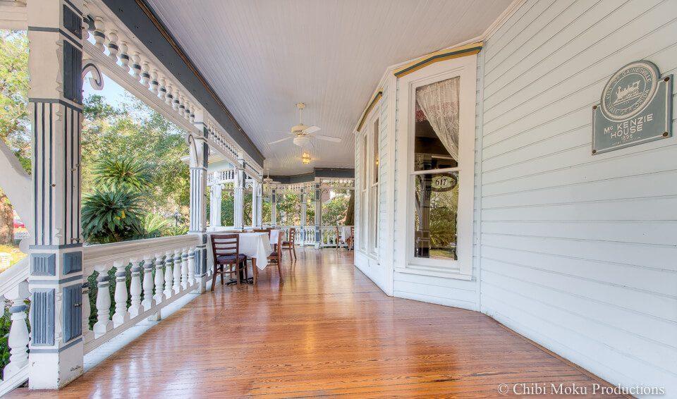 McKenzie House front porch