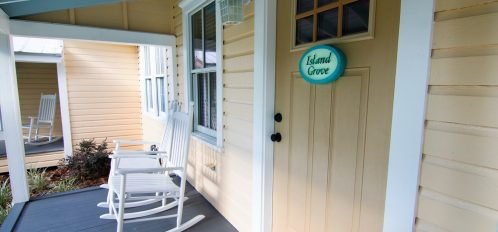 Island Grove Front Patio