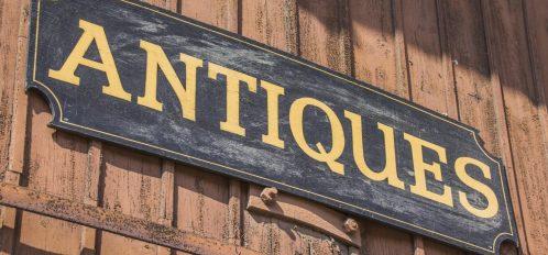 Antique Sign on a barn | Antique Stores in Gainesville FL