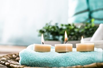 Three Spa Candles