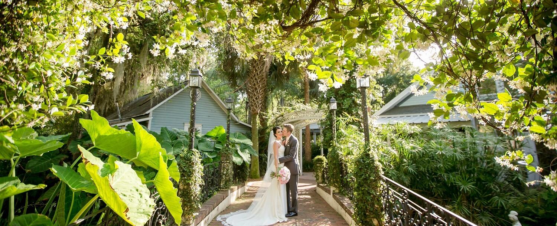 Bride & Groom at Sweetwater Branch Inn