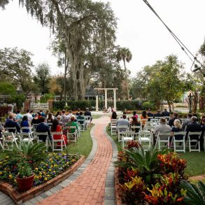 Guest at Colonnade Wedding at Sweetwater Branch Inn